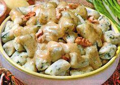 Gnocchi con crema di noci - La ricetta di Buonissimo