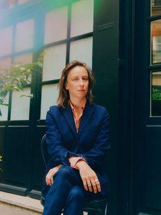 Filmmaker Céline Sciamma poses for a portrait on May 2019 in. Photography Women, Film Photography, Celine Sciamma, Stunning Women, Female Poses, Blazers For Women, Personal Branding, Portrait, Strong Women