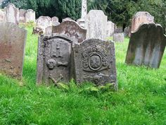 Medieval gravestones on the Western edge of Eaglesfield; Kirkconnel Churchyard, Scotland  1610