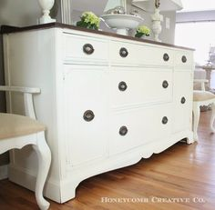 12th and White: A New {Milk Paint} Buffet