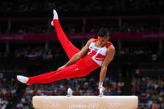 Louis Smith gets the silver in the Men's Pommel Horse