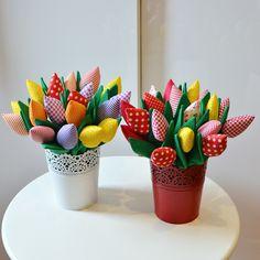 Tilda flowers ( tulips)