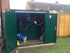 """Caroline sent us this picture and told us that she """"loves her Trojan"""".  That great news Caroline! You'll get years of use out of this strong and sturdy shed. - http://ift.tt/1HQJd81"""