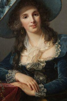 Antoinette-Elisabeth-Marie d'Aguesseau, comtesse de Ségur, 1785, Elisabeth Vigée-Lebrun