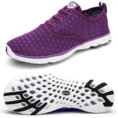d9e99185929ef Dreamcity Womens water shoes athletic sport Lightweight walking shoes --  You can find more details