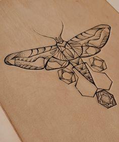 Moth Tattoo Meaning Geometric Tattoo Moth, Moth Tattoo Design, Geometric Art, Geometric Designs, Tattoo Designs, 20 Years Old, Tattoo Sketches, Tattoo Drawings, Art Sketches