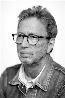 Musician and singer Eric Clapton is photographed for Rolling Stone magazine on May 8, 2014 in London, England.