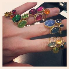 Rings from Gabriella Kiss!!! One is just not enough!