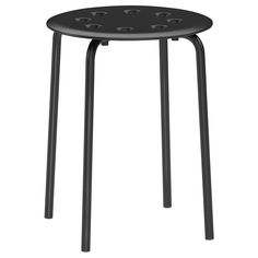 MARIUS Stool - IKEA - customize by adding the top of my choice, maybe a slice of a tree out back...