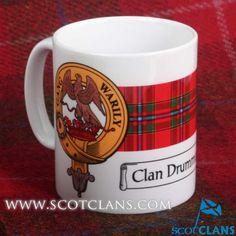 Drummond Clan Crest Mug