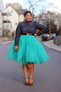 I will be wearing Tulle this fall.  'Five Fabulous Ways to Wear Tulle Skirts This Fall'