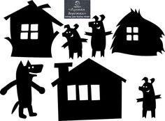 Shadow Theatre, Toy Theatre, Shadow Art, Shadow Play, Puppets For Kids, Disney Fantasy, Three Little Pigs, Shadow Puppets, Silhouette Art