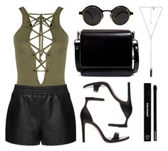 """""""Classy AF"""" by baludna ❤ liked on Polyvore featuring moda, WearAll, Topshop, Zara, Natalie B e Edward Bess"""