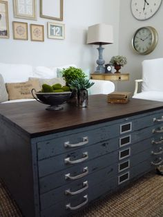 Flat File Coffee Table | Coffee Table Design | Pinterest | Artwork Display,  Filing And Coffee