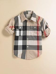 0a4f964317e8 Burberry - Toddler s   Little Boy s Check Shirt. Cute Toddler Boy ClothesToddler  ...