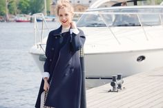 North Sails Apparel - Haven Long Double Breasted Jacket - Women - Sailing…
