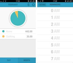 BUDGT is a stunning iPhone app to help you manage expenses and stick to a monthly budget