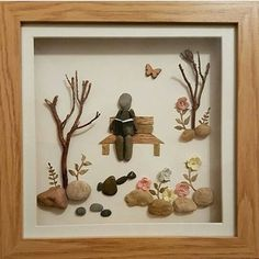 Repost from @ruth_rocks2016 If someone still thinks that stone can't speak, look at the works of this amazing Welsh artist and you'll change your mind  #pebbleartist #pebbleart #artwork #beachfinds #handdmade