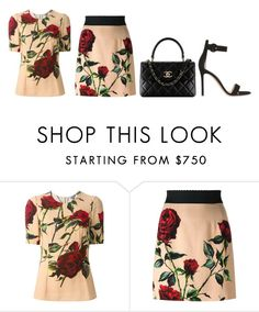 """Untitled #6"" by minimalsimplicity ❤ liked on Polyvore featuring Dolce&Gabbana and Gianvito Rossi"