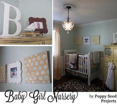 Poppy Seed Projects baby girl nursery