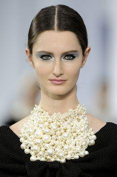 aclockworkpink:    Chanel S/S 2013, Paris Fashion Week