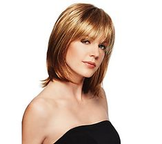Piecey, textured eyelash fringe blends beautifully into razor layered, to-the-shoulder sides and back for a contemporary long bob. Page 1 Haircuts For Long Hair With Layers, Haircuts With Bangs, Layered Haircuts, Short Haircuts, Boy Haircuts, Modern Haircuts, Crown Hairstyles, Easy Hairstyles, Hairstyle Men