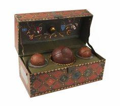 Harry Potter: Set coleccionable de Quidditch ¿Todavía eres capaz de recordar los nombres de cada bola?