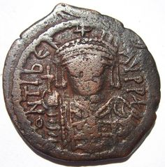 Maurice Tiberus AE Follis - Byzantine Coin Byzantine, Coins, Personalized Items, Antiques, Ebay, Antiquities, Antique, Rooms, Old Stuff