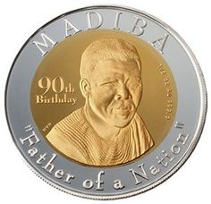 Father of a Nation Set Nelson Mandela Apartheid, Coin Collecting, Gold Coins, Father, African, Personalized Items, Pai, Dads