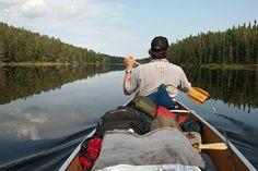 Rob paddling on Hjalmer Lake Ontario Provincial Parks, Canoeing, Woodland, Explore, Fresh, Canoes, Rowing, Boating, Exploring