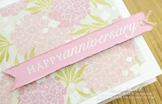 hand-stamped patterned paper