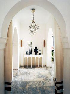 Bruno-Frisoni-Moroccan-retreat light fixture by Herve van der Straeten