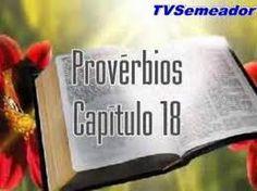 Blog do Pastor Manoel Barbosa Da Silva: Livros dos Provérbios -- Provérbios 18