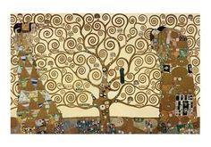 Gustav Klimt - Lebensbaum - jetzt bestellen auf kunst-fuer-alle.de