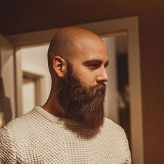 Likes, 89 Comments - Beard Bald Men With Beards, Bald With Beard, Great Beards, Long Beards, Awesome Beards, Shaved Head With Beard, Short Hair With Beard, Beard Head, Beard Styles For Men