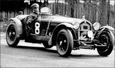 Le Mans 24 Heures 1933 - Alfa Romeo 8C 2300  #8 - Luigi Chinetti / Philip de Gunsburg. (Second Place)