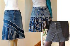 Idées recyclage de jeans