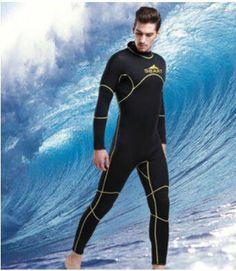 09d385cbd0 US  60.35 SBART 2017 Men 3mm neoprene wetsuit winter wet suit triathlon  suit men scuba diving