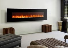 Dynasty 94-Inch Wall Mount Electric Fireplace - EF72-P