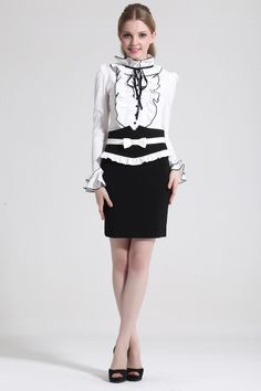 White, Lace cotton blouse, BLACK FALBALA, top shirt, sweet elegant, final CLEARANCE, GHL0606, UK, EUROPE, USA, STYLE, YRB, FASHION, YRBFASHI...