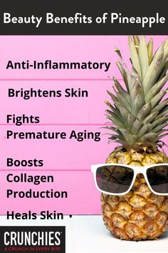 Fruit Facts, Pineapple Benefits, Whole 30 Snacks, Dried Pineapple, Snack Recipes, Healthy Recipes, Skin Brightening, Clean Eating Snacks, Healthy Lifestyle
