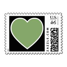 Have A Heart Postage Stamps (Asparagus) Green heart on black background => http://www.zazzle.com/have_a_heart_postage_stamps_asparagus-172738593637489484?rf=238590879371532555&tc=pinHSPOZPhaveaheartasparagusgreen