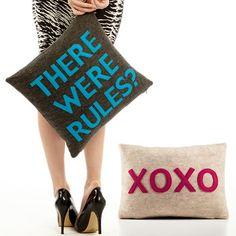 Alexandra Ferguson: Pillows With Something To Say