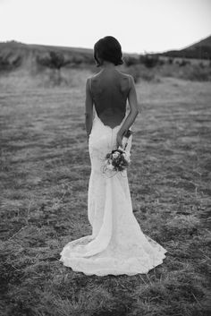 Our stunning bride Jessie in the Katie May Poipu gown. || Photo courtesy of Heidi Vail Photography.