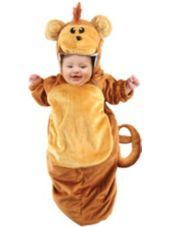 Monkey Baby Bunting Costume-Party City