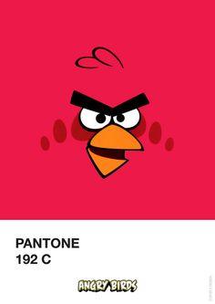 Pantone Angry Birds-1 - 192 Cby Filipe Marcus