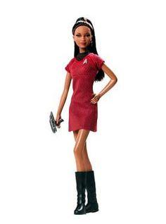 The Zoe Saldana as Lt. Uhura doll.