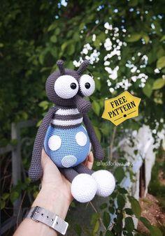 Learn To Crochet, Crochet For Kids, Free Crochet, Crochet Hats, Step By Step Crochet, Kids Blankets, Free Pattern, Crochet Patterns, Amigurumi