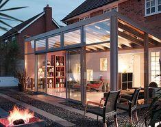 Modern Conservatory #conservatorygreenhouse