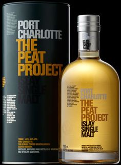 Port Charlotte - The Peat Project Whisky - Peated Islay Single Malt Scotch...haven't been there yet, but this is one of my favourites